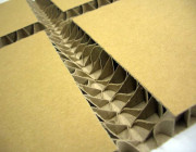 Honeycomb corrugated cardboard 15mm32 ° V-cut