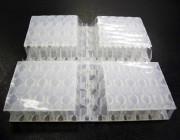 Plastic corrugated cardboard92 ° V-cut